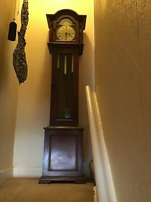 A Fine German Westminster Chime Longcase Clock By RR