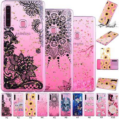 Shockproof Glitter Patterned Case TPU Phone Cover For Samsung J6 J4 Plus S9 S10e