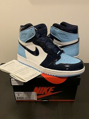 3c2691a0d2bea0 NEW DS 2019 Nike Air Jordan 1 Retro High OG BLUE CHILL CD0461-401 ...