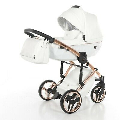 Pushchair Pram Buggy Stroller Travel System 3In1 Set Junama Individual 06
