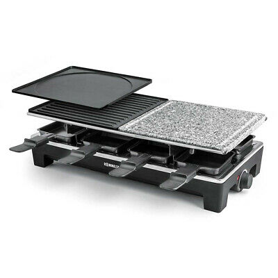 ROMMELSBACHER RCS 1350 raclette grill 8 person(s) Black,Stainless steel 1350 W