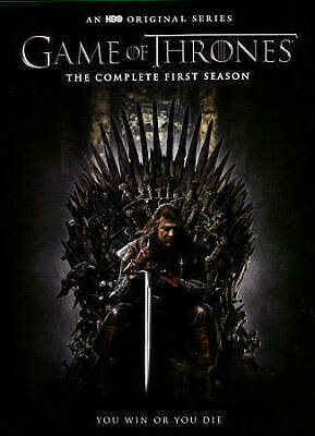 game of thrones seasons 1 ,2, 3 DVD 15 discs 30 episods 3 separate 5 discs sets