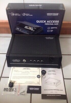 HERITAGE SECURITY PRODUCTS - Quick Access Personal Safe, pre