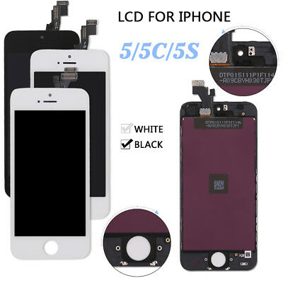 For Apple iPhone 5 5C 5S LCD Display+Touch Screen Digitizer Assembly Replacement