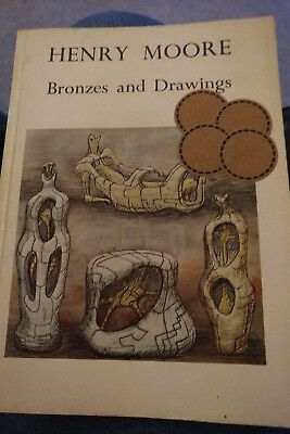 HENRY MOORE Bronzes and Drawings Fischer Fine Art 1970s BOOK CATALOGUE
