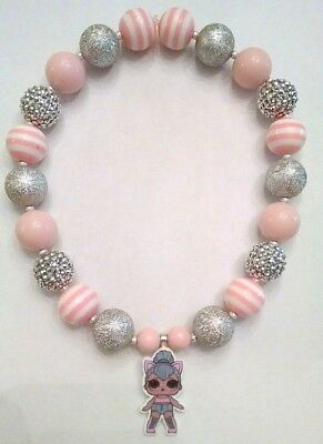 NEW LOL SURPRISE Doll KITTY QUEEN NECKLACE L.O.L. LIMITED EDITION Gumball Beads