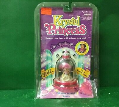 "1992 KRYSTAL PRINCESS;Princess Krystal""TREATS"" NIC By Playskool"