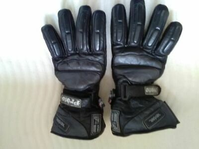 motorcycle gloves waterproof size medium
