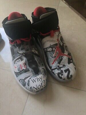 separation shoes 128a3 13558 Nike Air Jordan Why Not Zero.1 Russell Westbrook Basketball Shoes Men s  Size 8