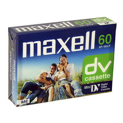 Maxell DV Cassette 60 min 5 Pack ***NEW AND SEALED***