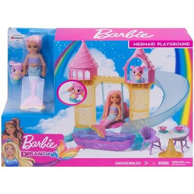 Barbie Dreamtopia Chelsea Mermaid Playground Play Set
