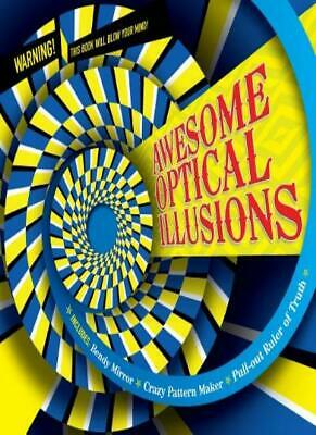 Optical Illusions, Awesome (Puzzle Books) By Carlton Kids