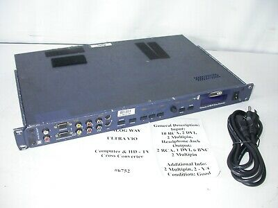 Analog Way Ultra Vio Computer & HD-TV Cross Converter #6752