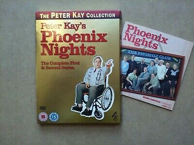 Peter Kay's - Phoenix Nights - The Complete First and Second Series (DVD + CD)
