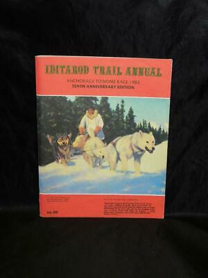 1982 Alaska Iditarod Dog Sled Race Trail Annual Book Musher Biographies Photos