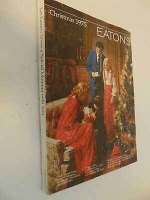 1975 Eaton's CANADA CHRISTMAS CATALOGUE  435 PAGES
