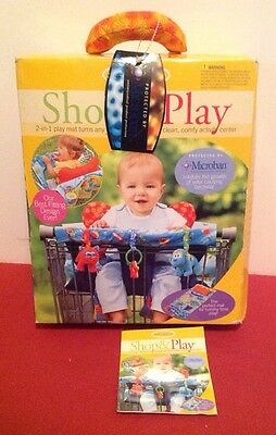 New In Box Infantino Activity Shop & Play 2-in-1 Play Mat / Shopping Cart Cover