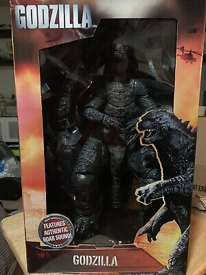 """NECA 2014 Movie 12"""" Godzilla, 24"""" From Head To Tail Action Figure. In Stock!!!"""