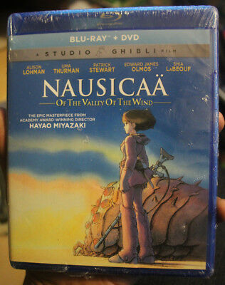 Nausicaa of the Valley of the Wind Blu Ray + DVD Studio Ghibli BRAND NEW SEALED