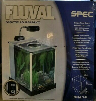 Fluval / Spec 2 Gal. Desktop Aquarium Kit Plants