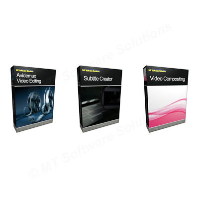 Collection Pro Video Movie Film Editing Suite Software sony vegas 15 type