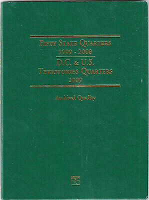 Littleton 1999-2009 Coin Folder for 50 State Quarters  and 6 Territory Quarters