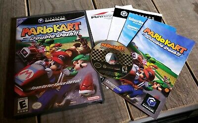 Mario Kart Double Dash Nintendo Gamecube 2003 Disc Only