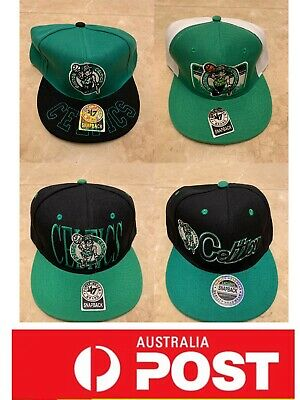 Boston Celtics Hats collection, Snapback hats, one size fits all