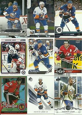 Huge New-York Islanders Canada Andrew Ladd 40 Different Cards Lot