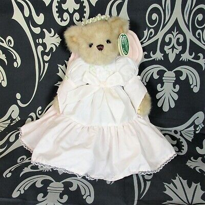 Bearington Collection Style4180 Retired Purple Angel Bunny Patience NWT Scented