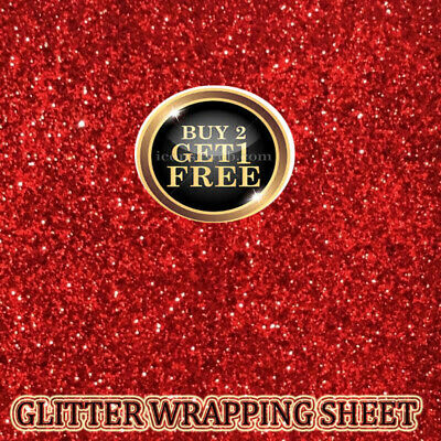 Shimmer Fine Glitter  Sheet - 69X49 size, perfect for gift Wrapping