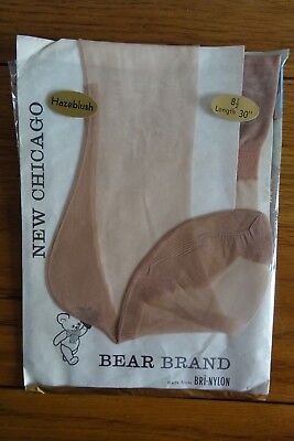 9c962ae1a Chicago by Bear Brand Fully Fashioned Stockings 8.5 Hazelblush