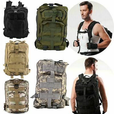 30L Sport Outdoor Military Rucksacks Tactical Molle Backpack Camping Hiking New