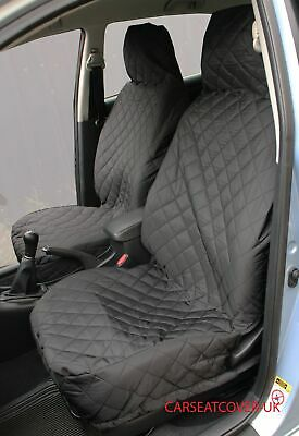 AUDI R8 FRONT GREY HEAVY DUTY PAIR CAR SEAT COVER SET