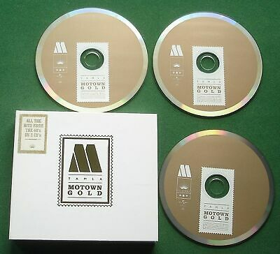 Tamla Motown Gold Four Tops Supremes Brenda Holloway Jr Walker + Digipak 3 x CD