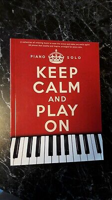Piano Solo red Book Keep Calm And Play On AM1005037-9781780386553