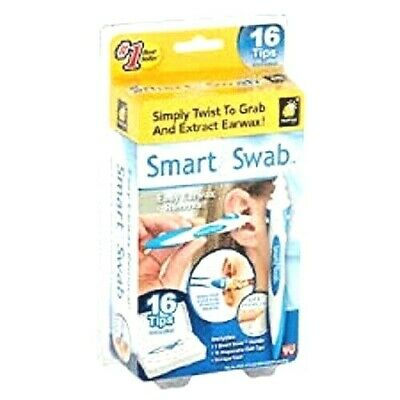 limpia orejas  NEW Smart Swab Easy Earwax Removal 16 Tips Included