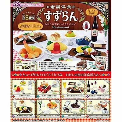 RE-MENT Petit Sample Nostalgic Restaurant 8pcs Complete BOX w/ Tracking NEW