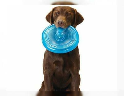Petstages Orka Flyer Rubber Durable Frisbee Chew and Fetch Toy for Dogs, Dog...
