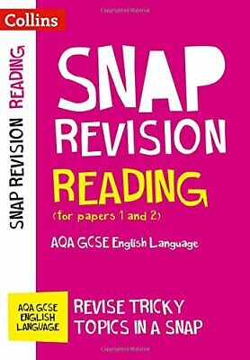 Reading (for papers 1 and 2): AQA GCSE English Language (Collins Snap Revision)