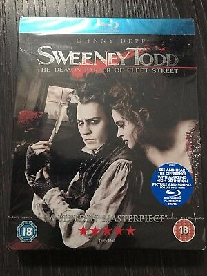 Sweeney Todd: The Demon Barber of Fleet Street - Limited Edition Steelbook