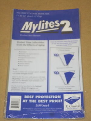 200 Factory Sealed Mylites2 GERBER CURRENT Mylar FAST FREE PRIORITY MAIL