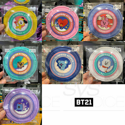 BTS BT21 Official Authentic Goods Coin Purse Ver.2 7Characters By LINE FRIENDS