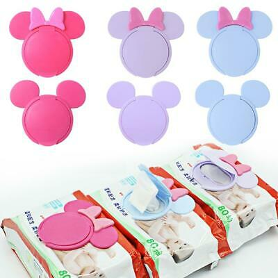 1Pc Baby Wet Wipes Newborn Baby Reusable Colorful Wet Paper Lid Cover Wet Tissue