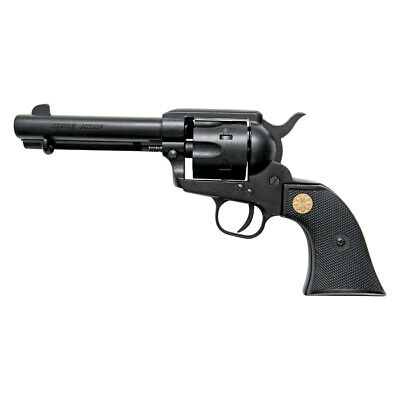 Kimar Colt Deluxe 1873 Fast Draw Blank Firing Movie Prop Revolver Gun, Black