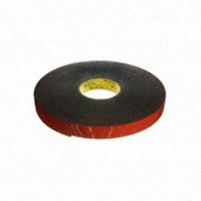 "Tape Dbl Coated Black 1""X 36Yds"