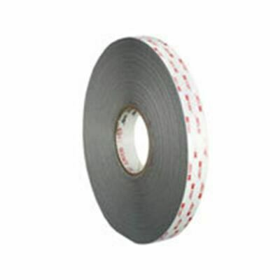 "Tape Dbl Coated Gray 1/2""X 36Yds"