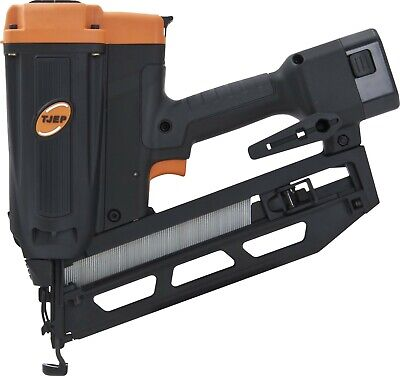 TJEP Cordless Gas 16g Angled Finish Nailer 20mm - 65mm