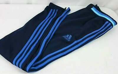 Adidas Boys Training Pants Three Stripes Size Large Used In Excellent Condition