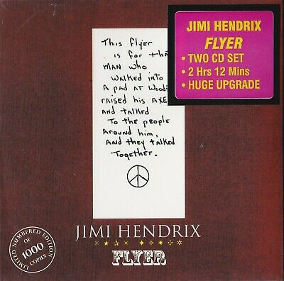 JIMI HENDRIX - Flyer ( Limited edition 2cd digipack / New & sealed)